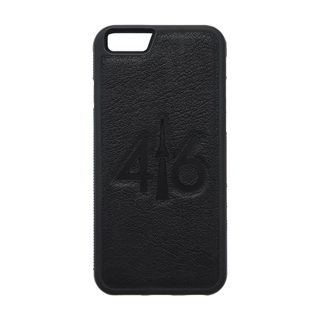 416 leather case (black logo) for iPhone 7