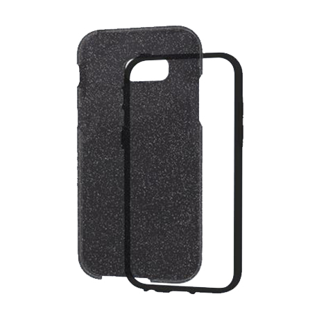 Étui Naked Tough de Case-Mate (motif noir pétillant) pour le Samsung Galaxy A5 (2017)