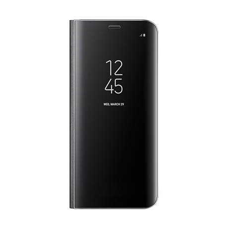Samsung Clear View Standing Cover (black) for Samsung Galaxy S8+