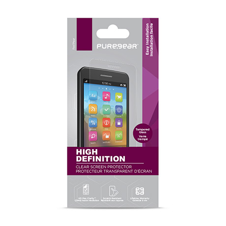 PureGear HD tempered glass screen protector for iPhone 11 Pro