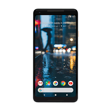 Pixel 2 XL, Phone by Google - 64 GB - white - 102680 - default