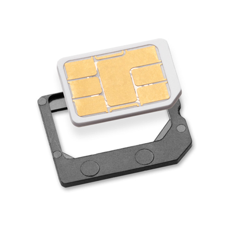 Nano to micro SIM card adapter