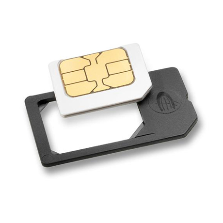 Micro to regular SIM card adapter