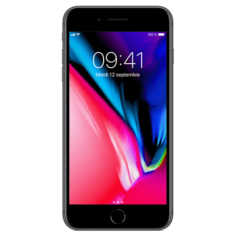 Apple iPhone 8  plus - default - 64GB – Space grey