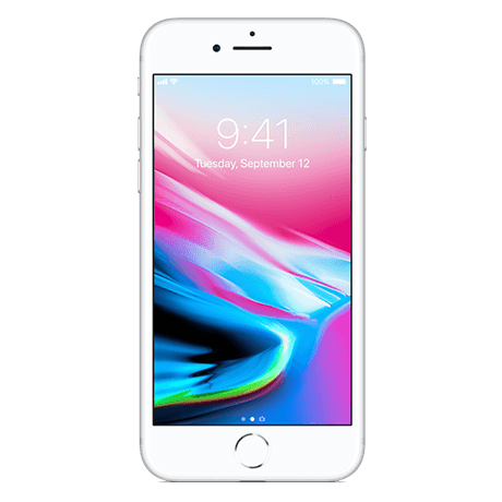 Apple iPhone 8 - 128GB – Silver -104567  default