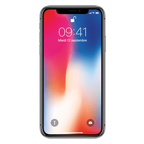 iPhone X - grey- 64 - default - 102172
