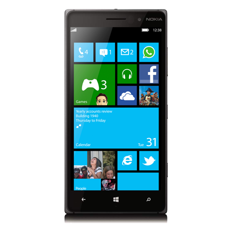The Nokia Lumia 830 from Bell Mobility - 75.9KB
