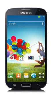 Samsung Galaxy S4<sup style='font-size:0.5em'>MC</sup>