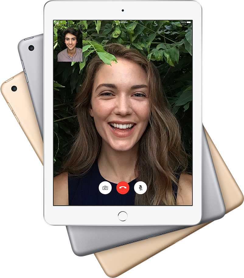 iSight and Facetime Cameras for iPad