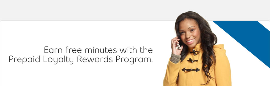 Earn free minutes with the Prepaid Loyalty Rewards Program