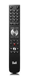 Fibe TV Slim Remote