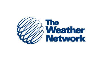 Weather Network interactive channel on Bell TV