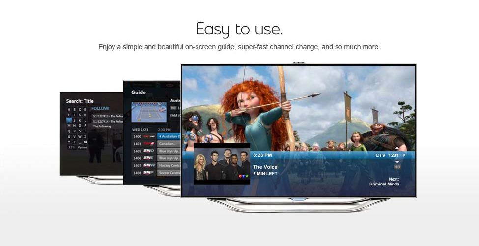 Fibe TV brings you Apps on your TV