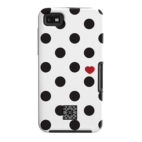 Case-Mate Tough case (polka dots/heart) BlackBerry Z10