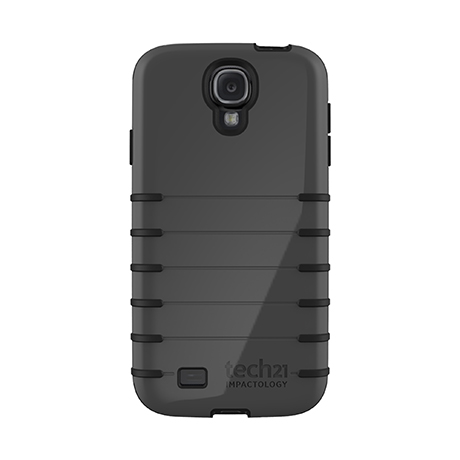 Tech21 Impact Trio Grip case, (grey/black) for Samsung S4