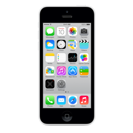 Apple iPhone 5c - White