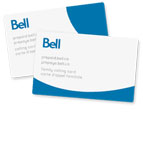 Bell Home phone: Calling cards